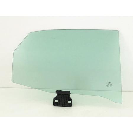 Rear Side Glass - For Audi A4 S4 RS4 4DR Sedan Passenger/Right Side Rear Door Window Glass