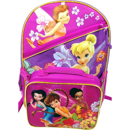 Disney Fairies Backpack with Lunch Kit