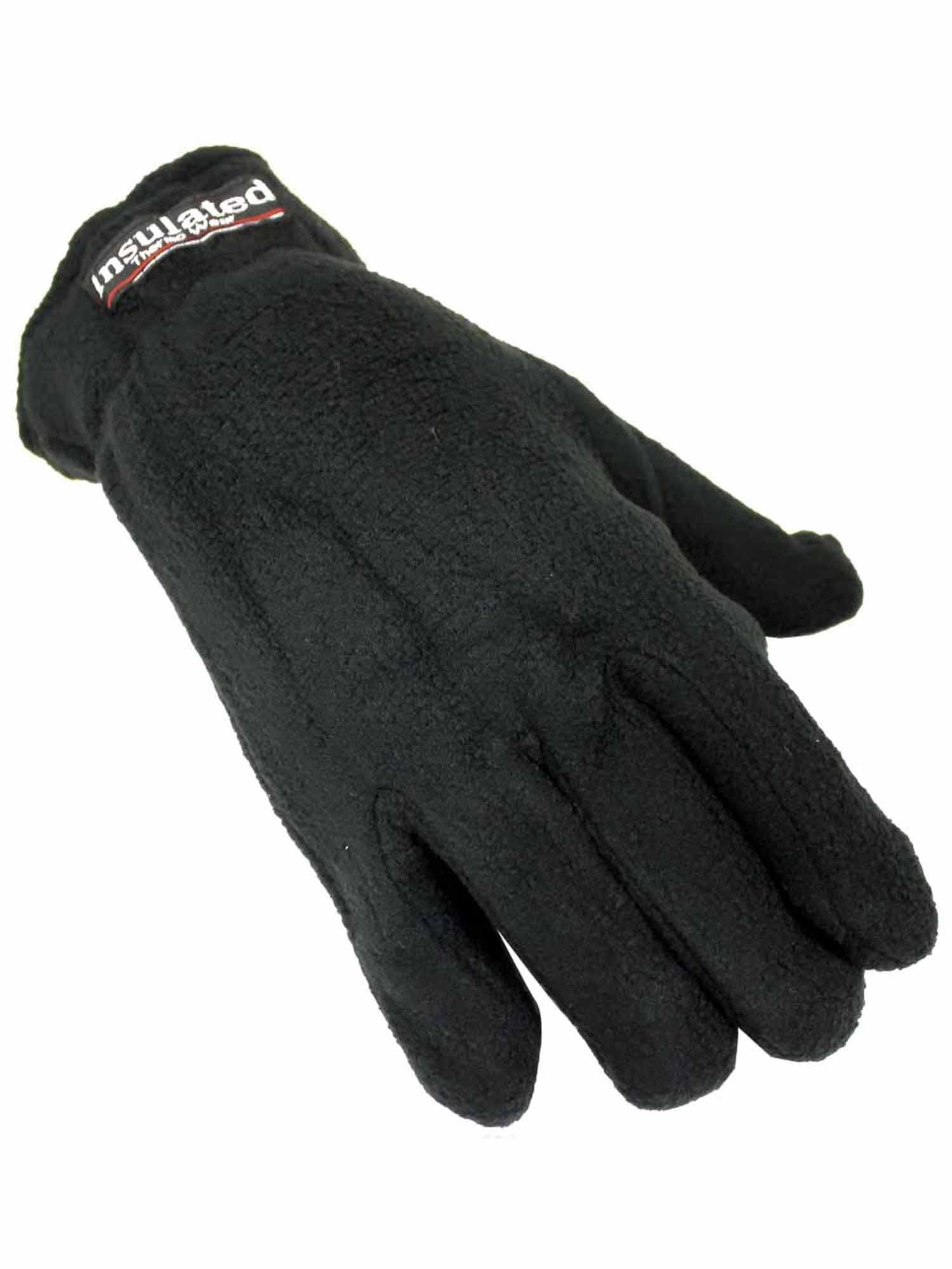 Womens Fleece Thermal Insulated Winter Gloves Walmart Com