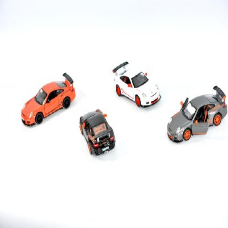 Castle Toys Kinsmart 2010 Porsche 911 GT3 RS Cars (Set of...