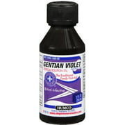 Humco Gentian Violet Topical Solution 2% 2 oz