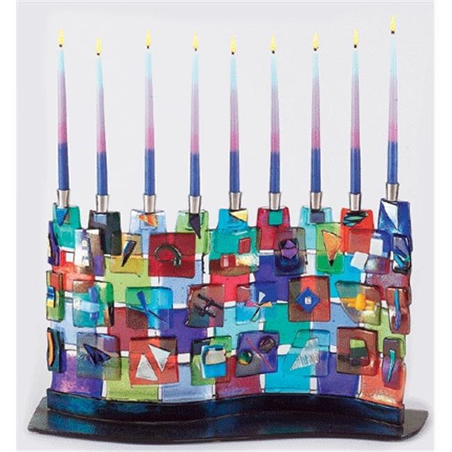 Judaica Kingdom TB-MEN-334 The Wall Menorah by Tamara Baskin