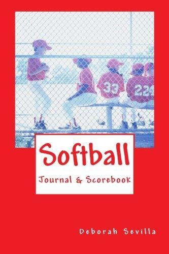 Softball Scorebook & Journal by