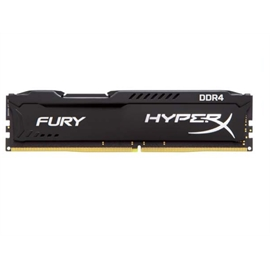 Kingston Memory HX424C15FB2K2/16 16GB (2x8GB) DDR4 2400 Unbuffered HyperX Fury Black Retail