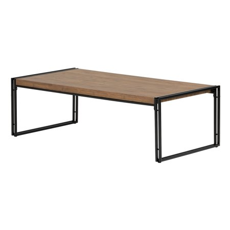 South Shore Gimetri Coffee Table, Rustic Bamboo