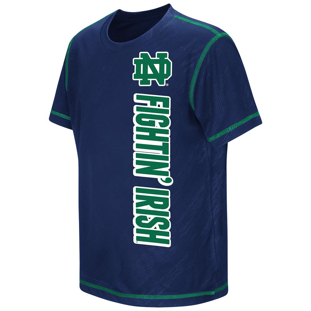 Youth NCAA Notre Dame Fighting Irish Short Sleeve Tee Shirt (Team Color)