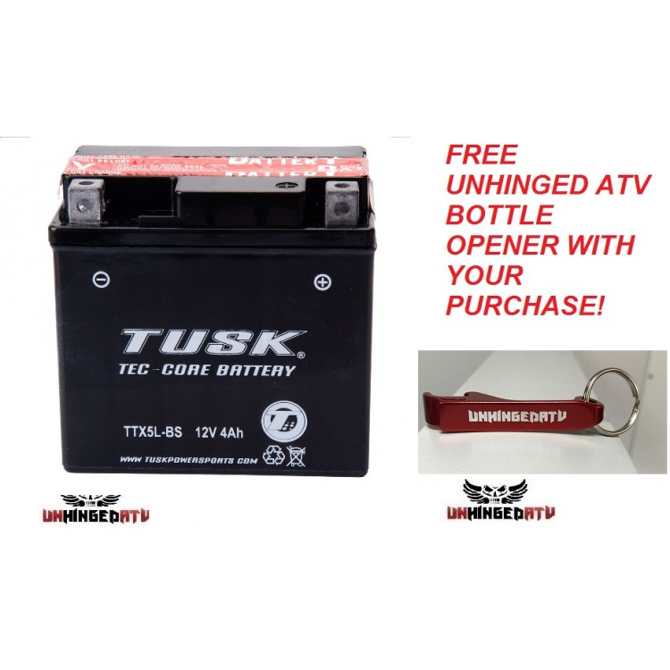 Premium Tusk Tec-Core Battery with Acid – Fits: John Deer...