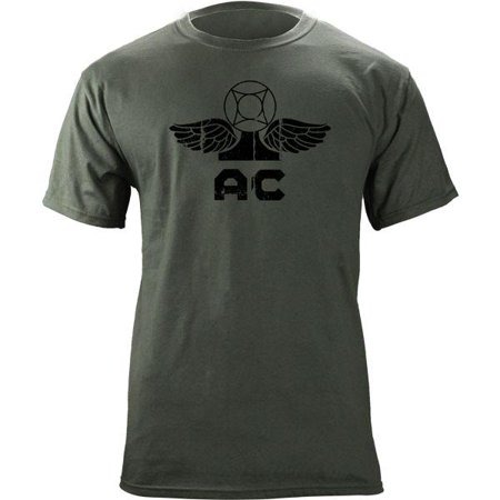 Vintage Navy Air-Traffic Controller AC Rating Badge Veteran T-Shirt