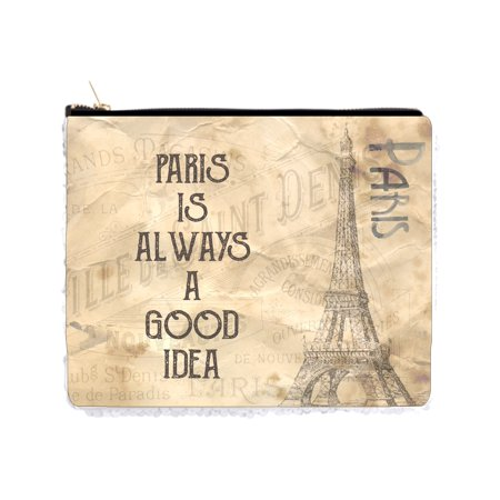 Paris is Always a Good Idea - Eiffel Tower - Vintage Style Design - 2 Sided 6.5