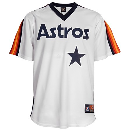 Luis Gonzalez Houston Astros Majestic MLB Cooperstown Replica Jersey by