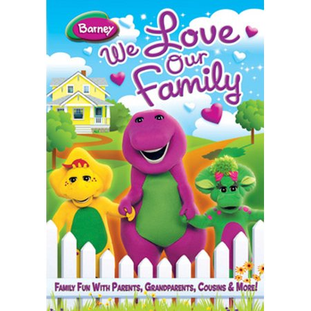 Barney: We Love Our Family (DVD) - Barney's Halloween Party Dvd