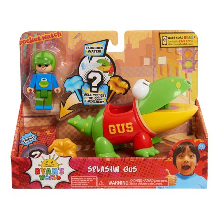 Ryans World Splashins Gus Action Fig
