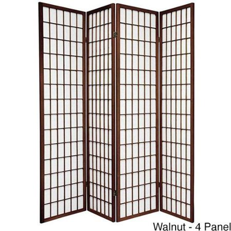 Oriental Furniture Wood And Rice Paper Windowpane Shoji Screen China