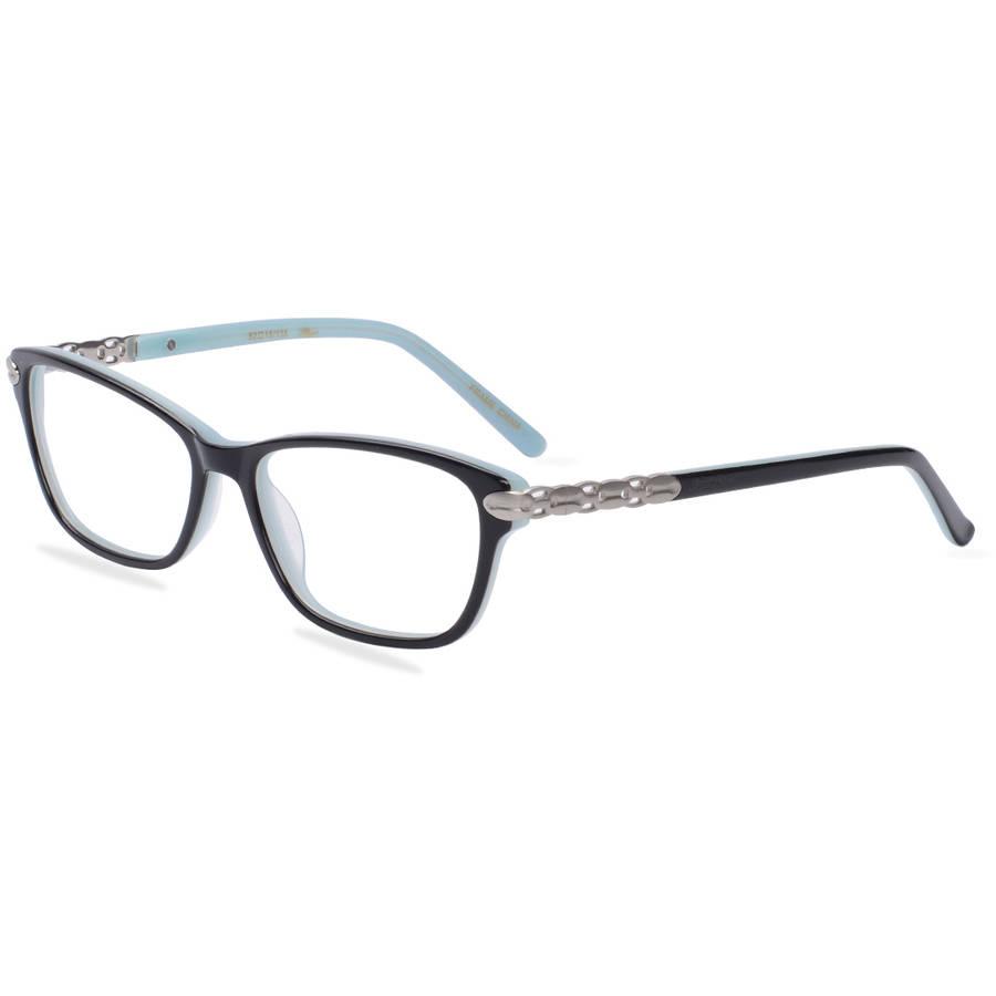 apple bottoms womens prescription glasses ab764 black