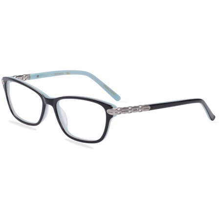 Eyeglasses With No Bottom Frame : Apple Bottoms Womens Prescription Glasses, AB764 Black ...