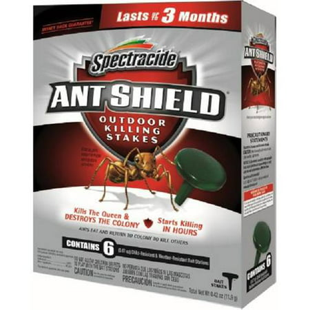 Spectracide Ant Shield Ant Killer Stakes, 6 pk