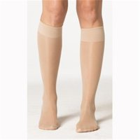 15-20 mm Hg Sheer Fashion Knee High, Black - Size A