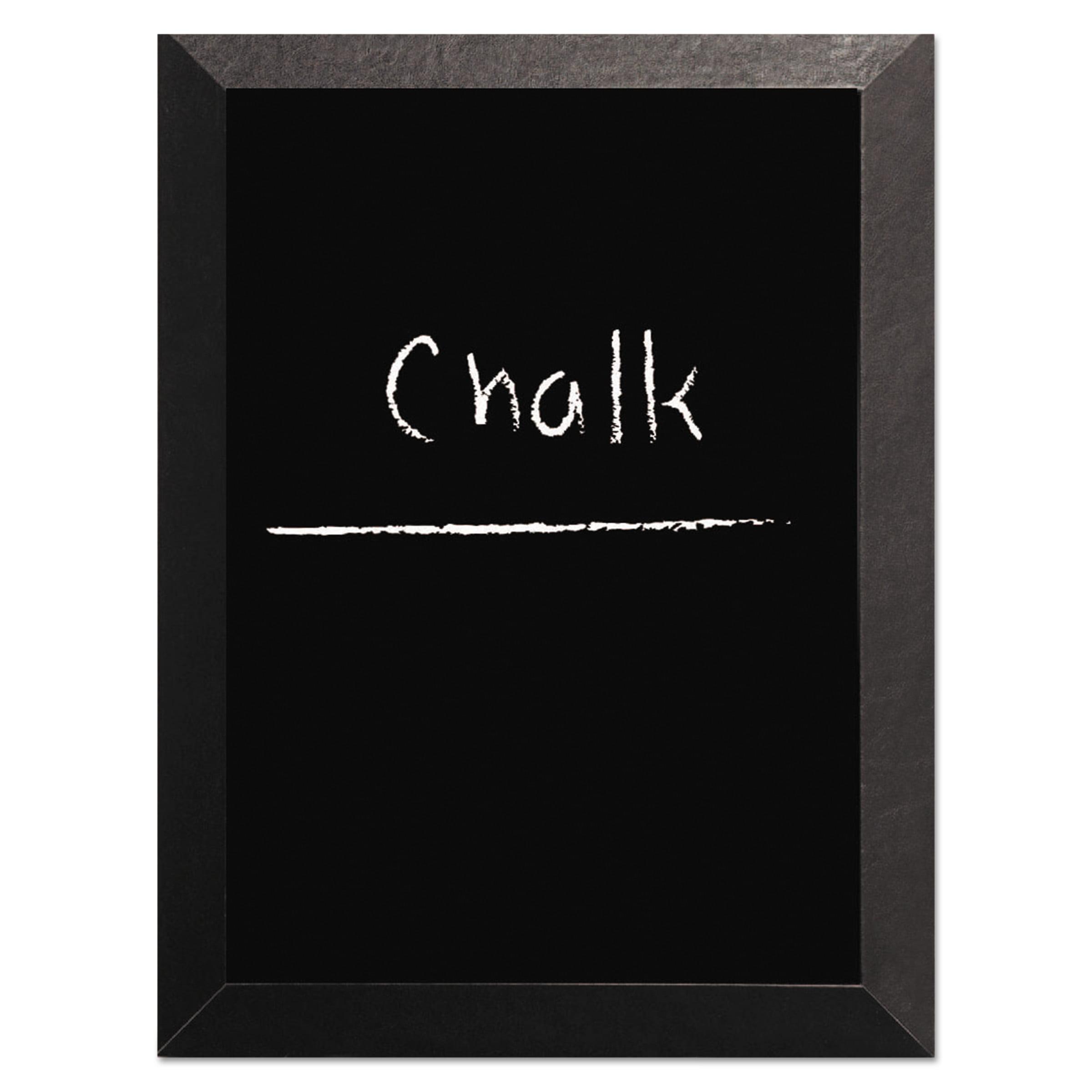 MasterVision Kamashi Chalk Board, 48 x 36, Black Frame