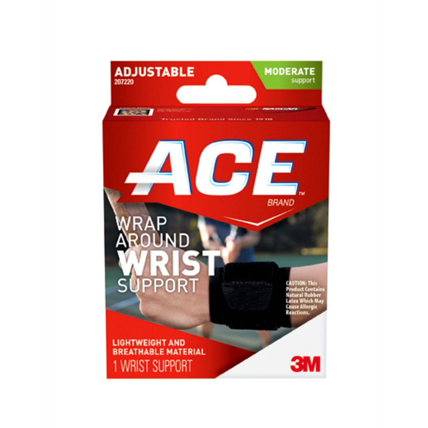 ACE Wrap-Around Wrist Support, One Size, Adjustable
