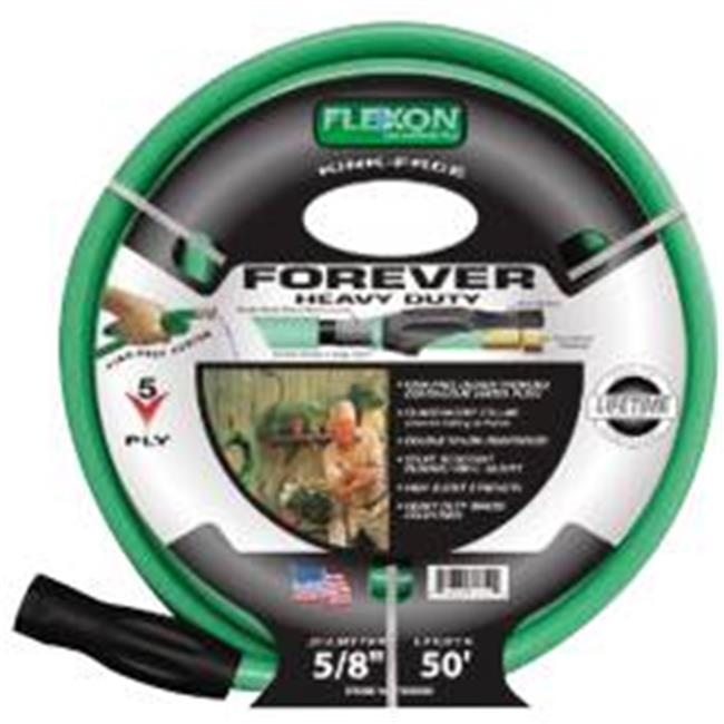 Flexon 11513C Garden Hose 5-Ply .62 In. X 75 Ft. Lead Free