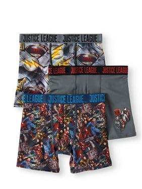 4253b4d088 Product Image Justice League Boys Athletic Boxer Briefs, 3 Pair
