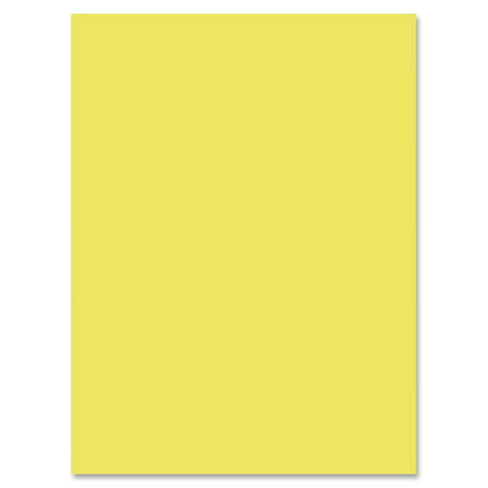 - Nature Saver, NAT22324, 100% Recycled Construction Paper, 50 / Pack, Yellow