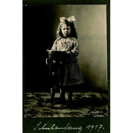 LAMINATED POSTER Class Back To School Schultte Training Photo Girl Poster Pri