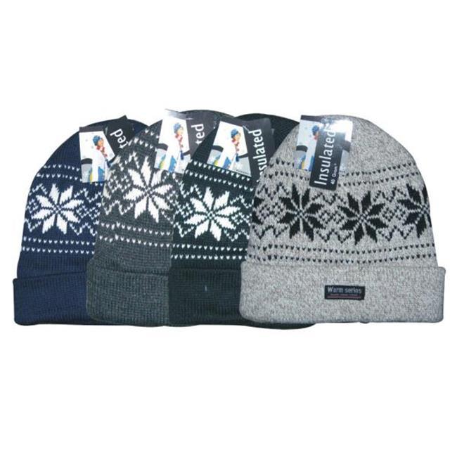 DDI 678420 Roll Up Ski Hats Case Of 72