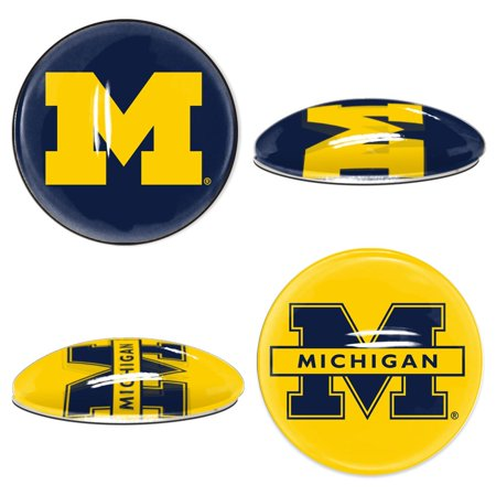 Michigan Wolverines Official NCAA  Sport Dotts Magnet 2 Pack by Wincraft