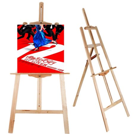 Ubesgoo 53 Adjule Artist Durable Wooden Easel Stand For Table