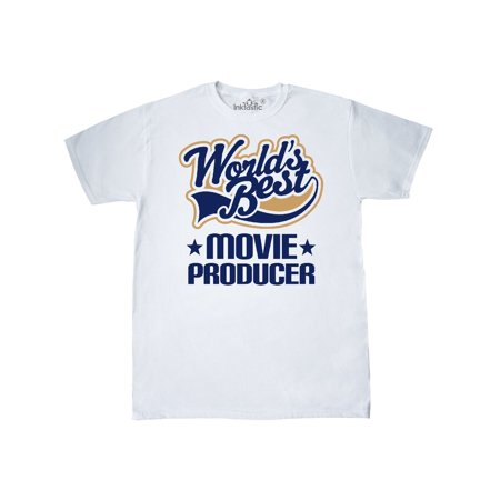 World's Best Movie Producer T-Shirt (Best Think Tanks In The World)