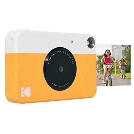 Kodak PRINTOMATIC Digital Instant Print Camera Yellow Full Color Prints On ZINK 2x3