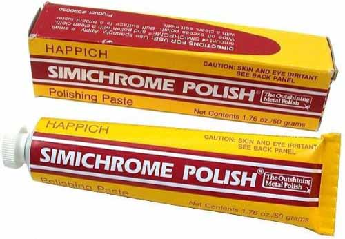 Simichrome TUBE-50G Metal Polish Tube for Antique Dealers