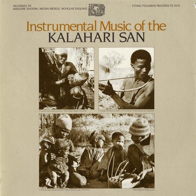 Smithsonian Folkways FW-04315-CCD Instrumental Music of the Kalahari San - image 1 de 1