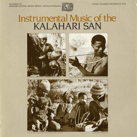 Smithsonian Folkways FW-04315-CCD Musique Instrumentale du San Kalahari - image 1 de 1