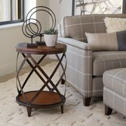 Magnussen T1755 Pinebrook Wood Round Accent Table
