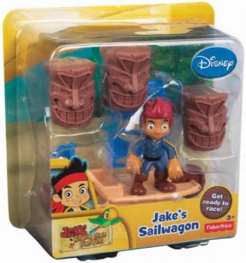 Fisher-Price Disney's Jake and The Never Land Pirates: Jake's Sailwagon - Jake And The Neverland Pirates Sword