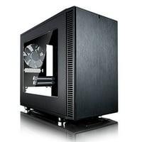 Fractal Design Define Nano S ITX Computer Case w/ Window - FD-CA-DEF-NANO-S-BK-W
