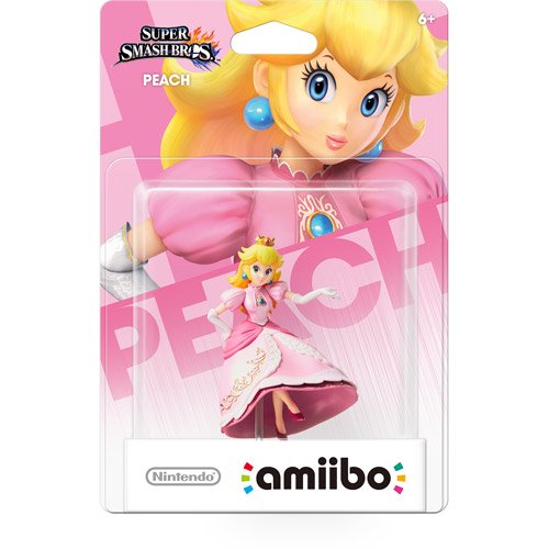 Peach Super Smash Bros Series Amiibo (Nintendo Wii U or 3DS)