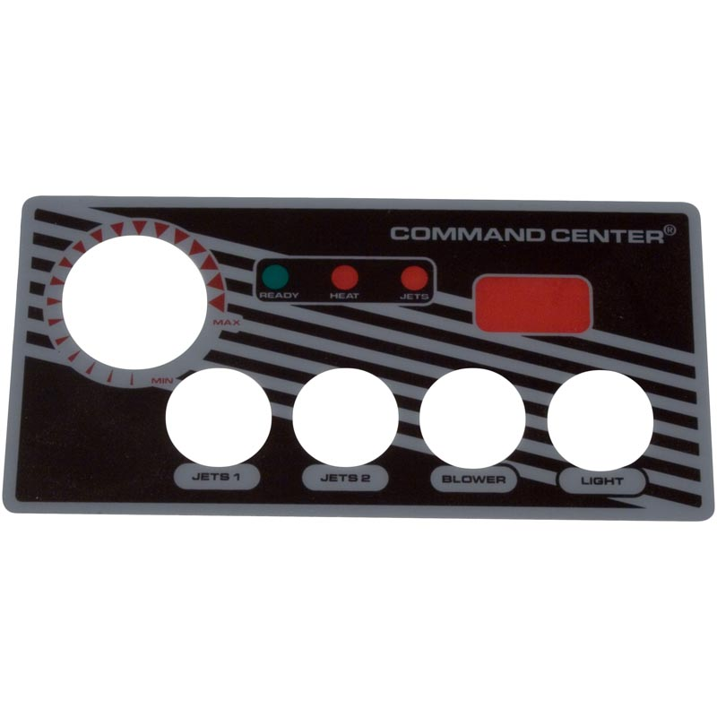 Overlay, Tecmark Digital Command Center, 4 Button
