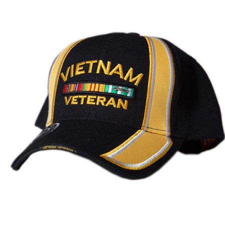 (US Honor Embroidered Racing Vietnam Veteran Bar Baseball Caps Hats)
