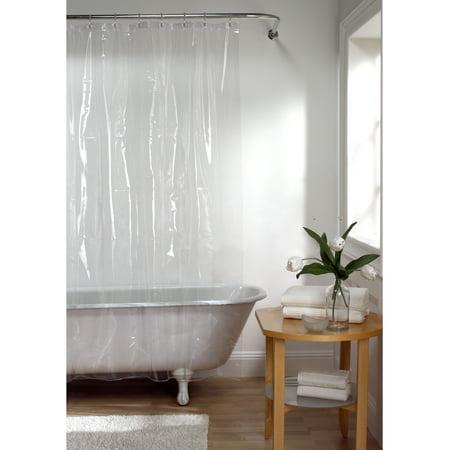 Maytex Super Heavyweight Premium 10 Gauge Shower Curtain Or Liner 72 X