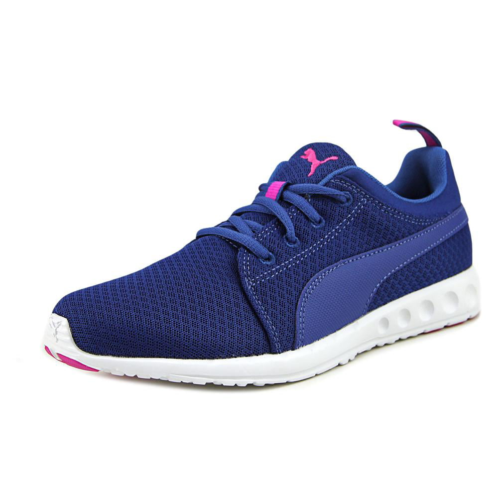 Puma Carson Mesh Toe Wn's Women  Round Toe Mesh Synthetic Pink Sneakers 2f06ef