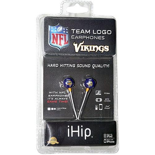iHip NFL Mini Earbuds, Minnesota Vikings