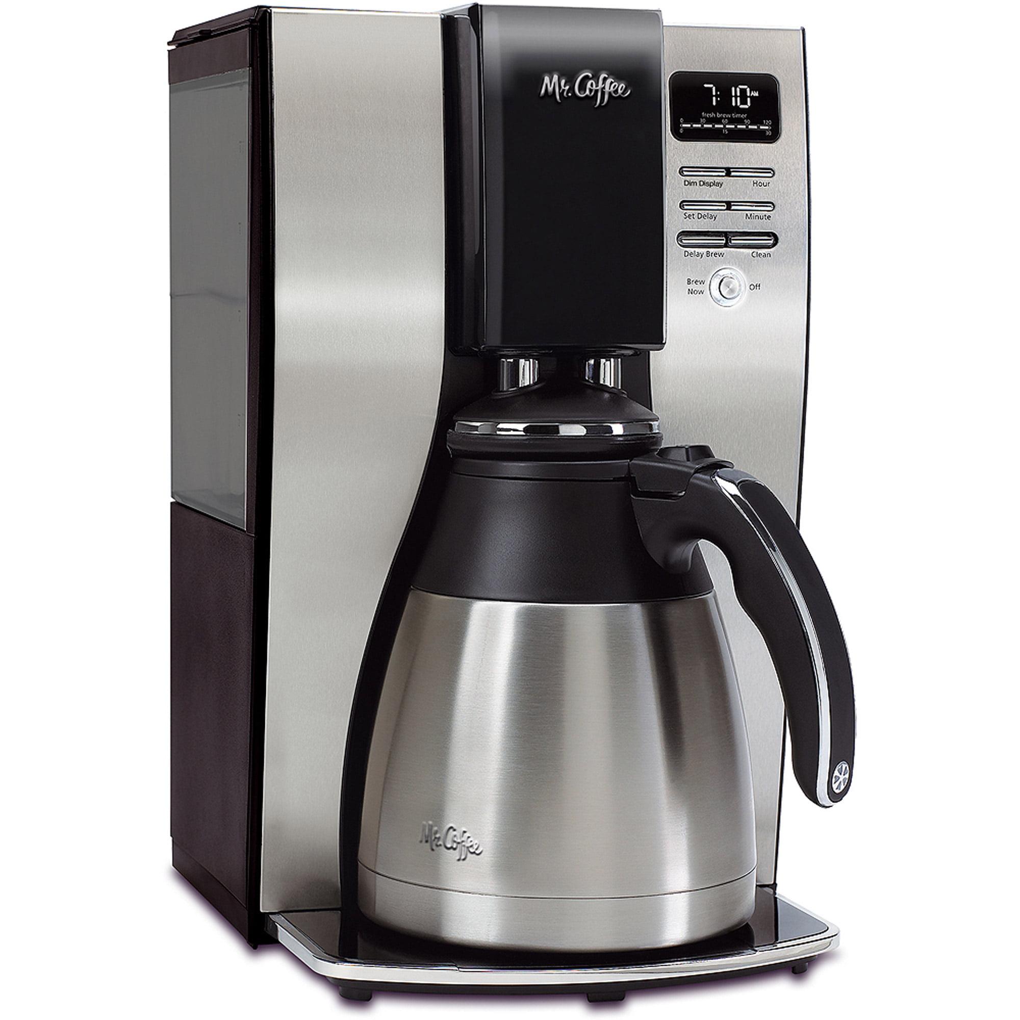 Mr. Coffee 10-Cup OptimalBrew Thermal Coffee Maker, BVMC-PSTX91-WM
