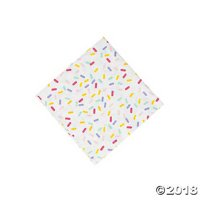 Donut Party Beverage Napkins