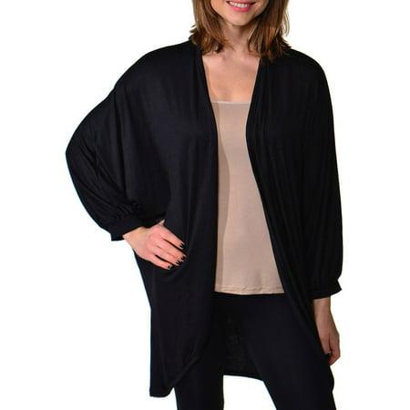 Women's Dolman Sleeve Oversized Long -