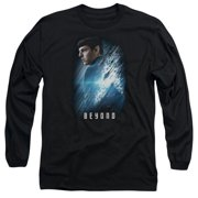 Star Trek Beyond Spock Poster Mens Long Sleeve Shirt