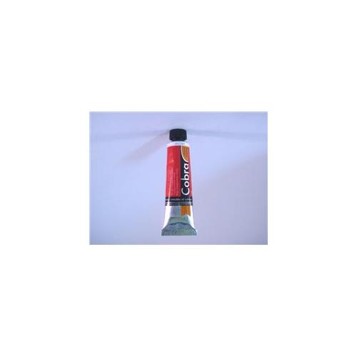 Royal Talens C210-53170 40ml Cobra Water Mixable Oil Color Paint - Transparent Red Medium