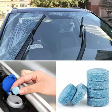 Automobile Glass Waterwheel Wiper Glass Cleaner Effervescent Tablets - image 5 of 8